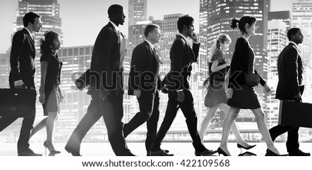 Business City Life Corporate Colleagues Concept - stock photo
