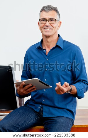Business coach - stock photo
