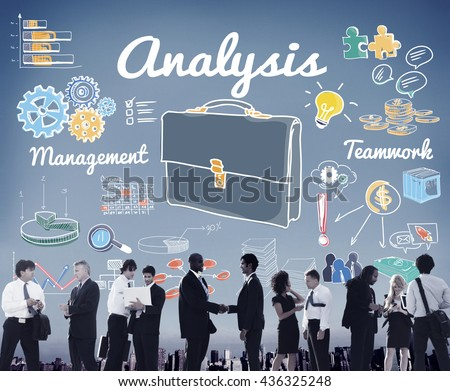 Business Colleagues Corporate Expertise Management Concept - stock photo