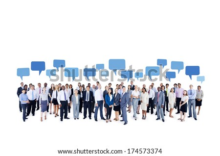 Business Communication. - stock photo