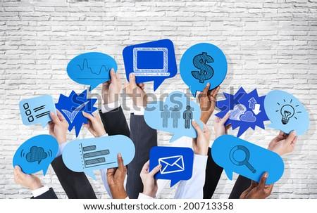 Business Communications - stock photo