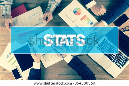 Business Concept: STATS - stock photo