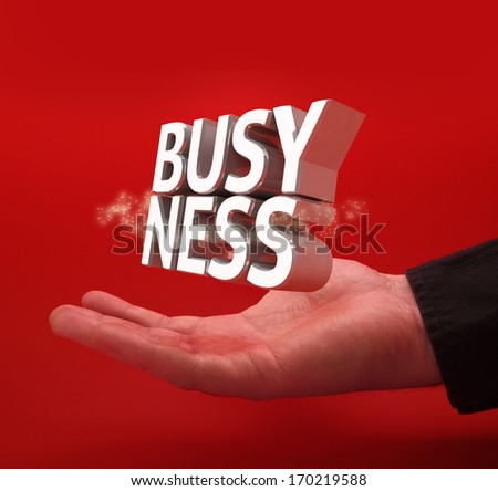Business concept text - stock photo