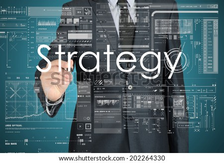 Business Concepts. Strategy - stock photo