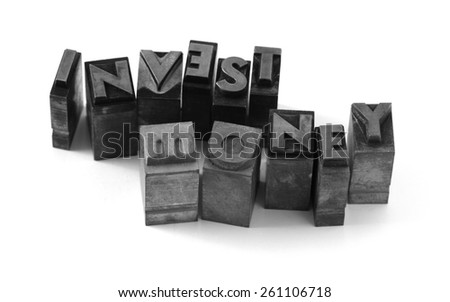 Business conceptual image, 3d render isolated on white.