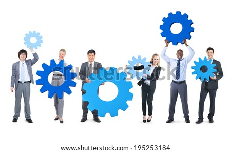Business Connection - stock photo
