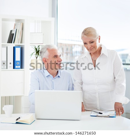 Business Cooperation - stock photo