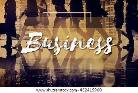 Business Corporate Enterprise Development Concept - stock photo