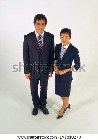 Business couple in Korea