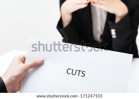 Business cuts concentrated on women discrimination - injustice