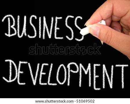 business development - stock photo