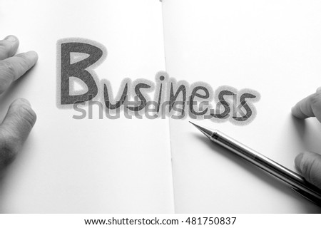 Business : Digital background, Businessman concept