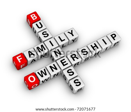 business family ownership crossword