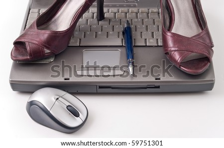 Business Fashion Statement - stock photo