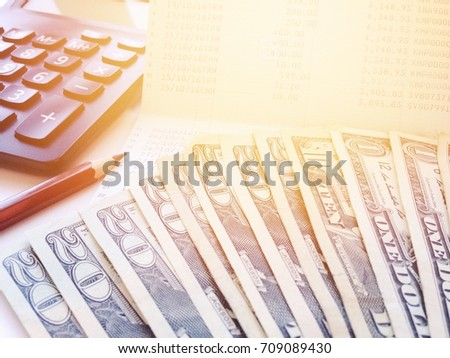 Calculator Money Stock Images, Royalty-Free Images & Vectors