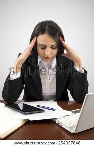 Business gone bad - stock photo