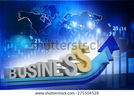 business growth concept background