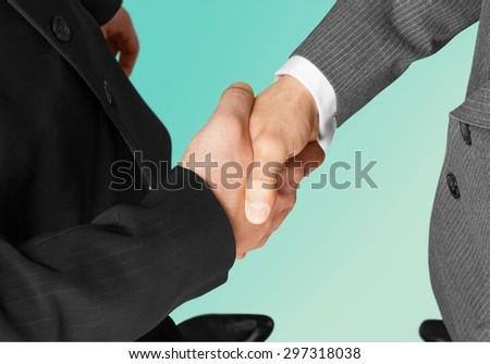 Business, Handshake, Partnership. - stock photo