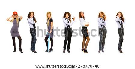 Business Idea Big Group  - stock photo