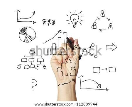 business idea concept - stock photo