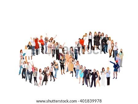 Business Idea Models Diversity  - stock photo