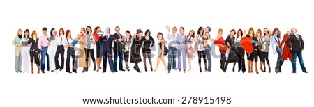 Business Idea People Diversity  - stock photo