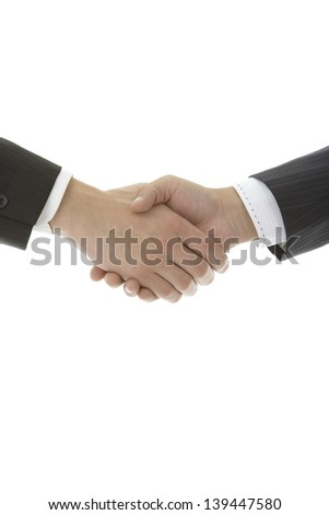 Business image, handshake