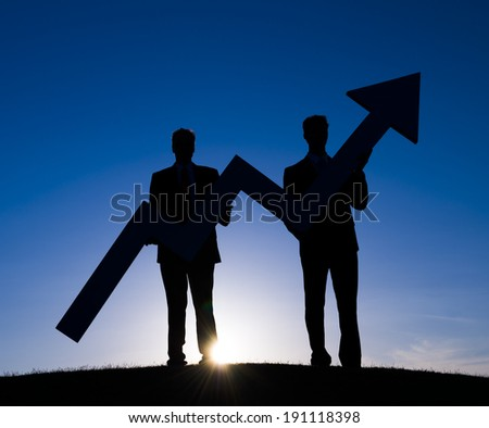 Business Increase - stock photo