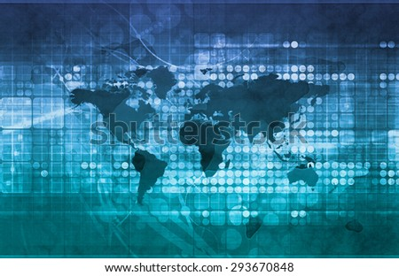 Business Investment Opportunities on a Global Scale - stock photo