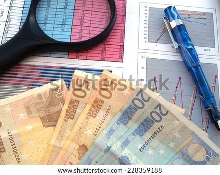 business investment profit concept       - stock photo