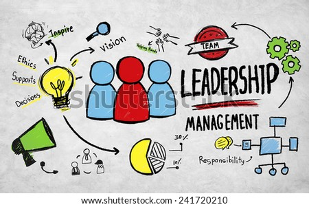 Business Leadership Management Vision Professional Concept - stock photo