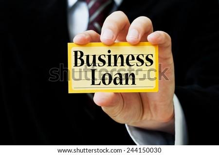 Business Loan - stock photo
