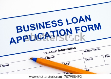 Business loan application form ballpoint pen stock photo edit now business loan application form with ballpoint pen flashek Choice Image