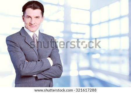 Business Man. - stock photo