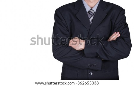 business man in suit