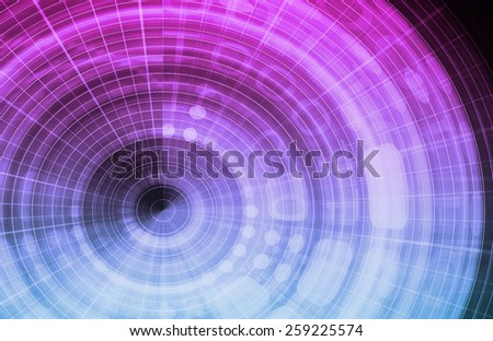 Business Management Software as a Abstract Concept Idea - stock photo