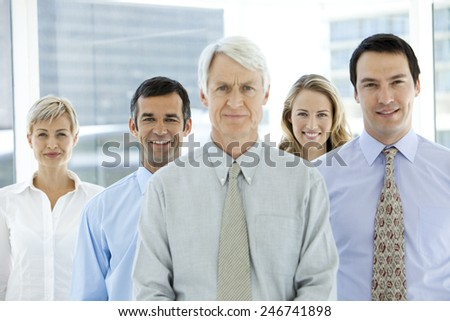 Business management team - stock photo