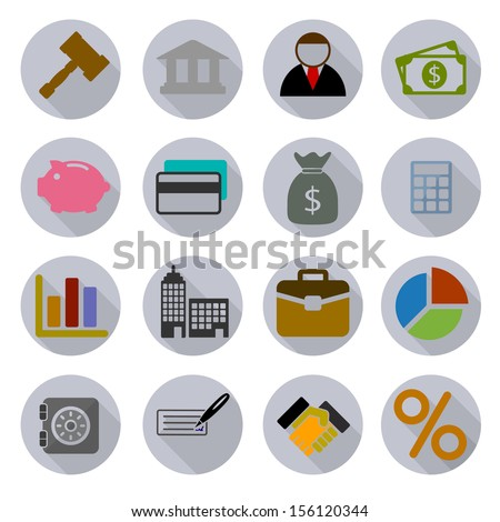 Business Modern Icons Set