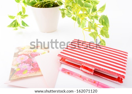 business notebook  - stock photo