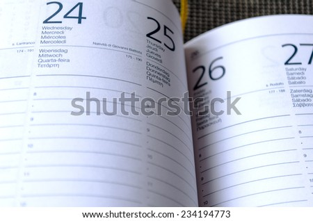 Business Notepad on wooden table