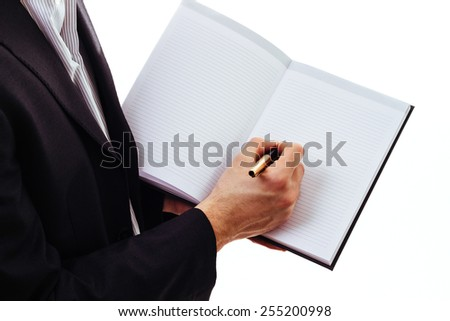 Business notes  - stock photo