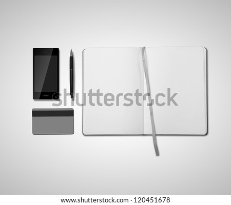 business object on white  background - stock photo