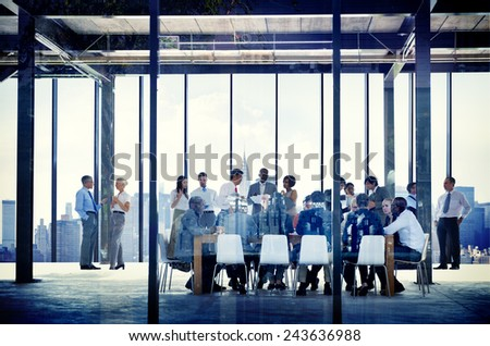 Business Organization People Working Togetherness Meeting Concepts - stock photo