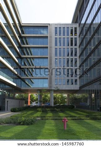 Business park - stock photo