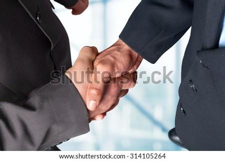Business Partnership. - stock photo