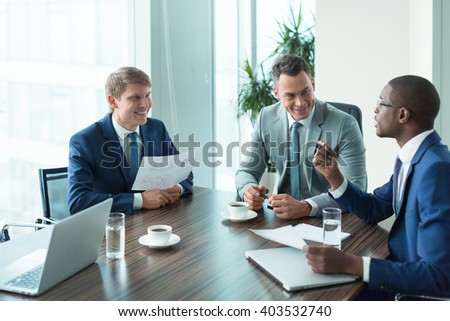 Business people at meeting  - stock photo