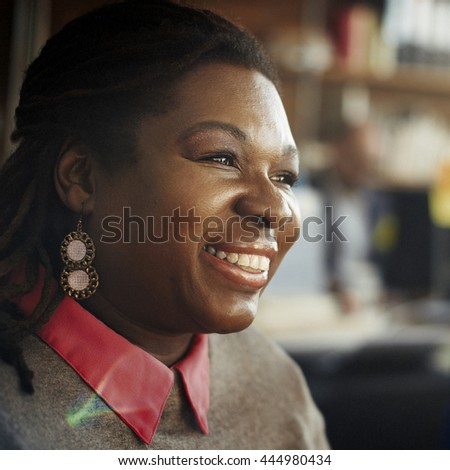 Business People Break Time Relaxation Smiling Concept - stock photo