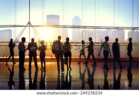Business People Collaboration Team Teamwork Peofessional Concept - stock photo