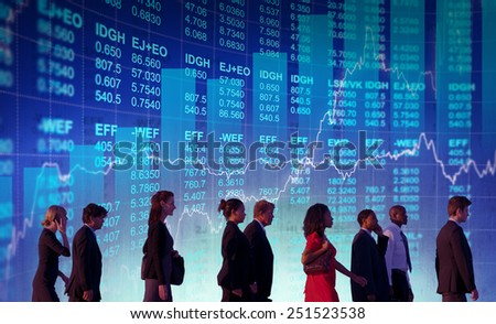 Business People Collaboration Team Teamwork Professional Concept - stock photo