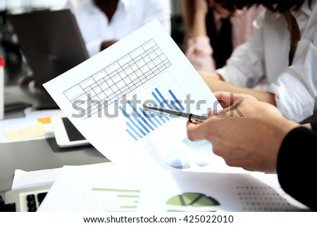 Business People Diverse Brainstorm Business Meeting Concept